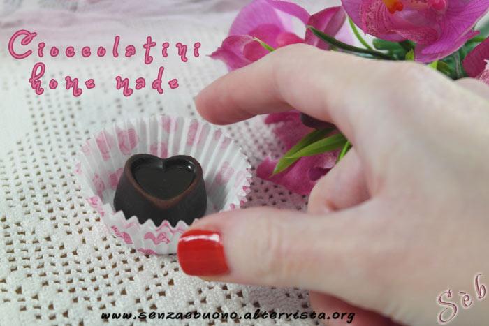Cioccolatini home made senza glutine e vegan
