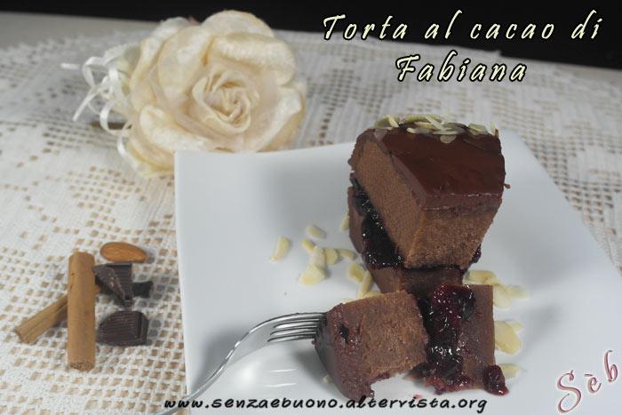 Torta al cacao di Fabiana Fabipasticcio