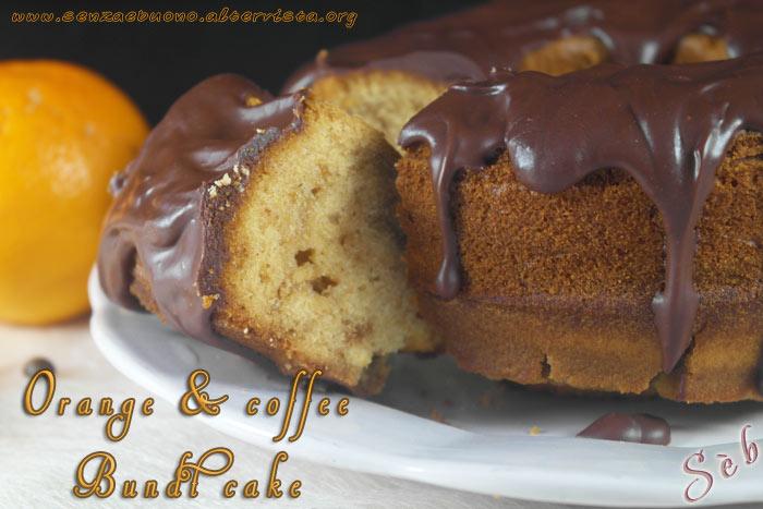 Orange & coffee Bundt cake