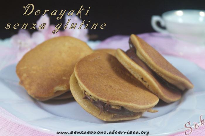 Dorayaki senza glutine di Mary