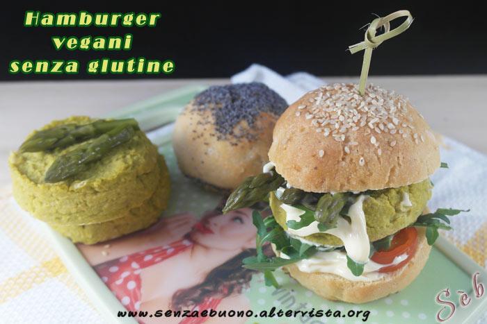 Hamburger vegan senza glutine