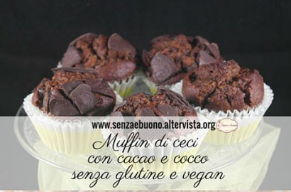 Muffin di ceci senza glutine vegan