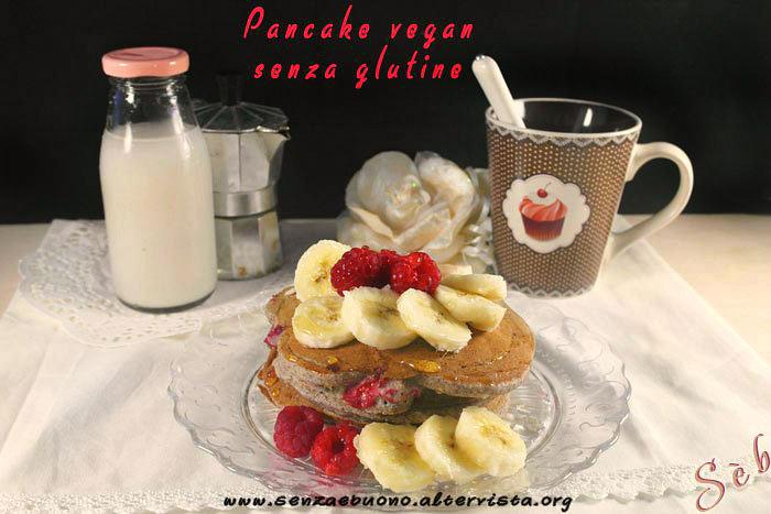 Pancake vegan senza glutine sugar free