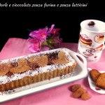 Crostata mandorle e cioccolato senza farina