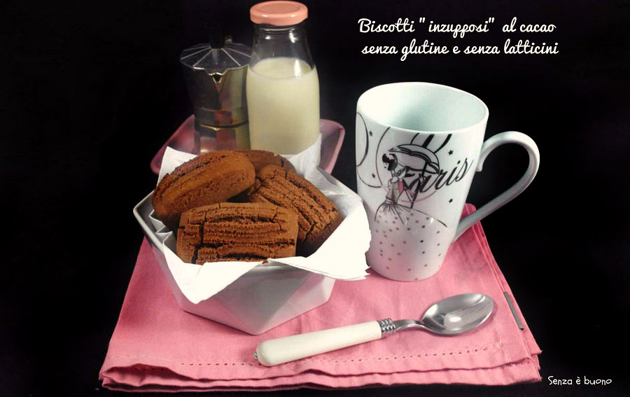 Biscotti inzupposi senza glutine