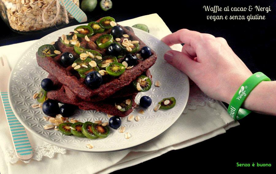 Waffle al cacao e Nergi