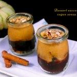 Dessert alla zucca e cacao