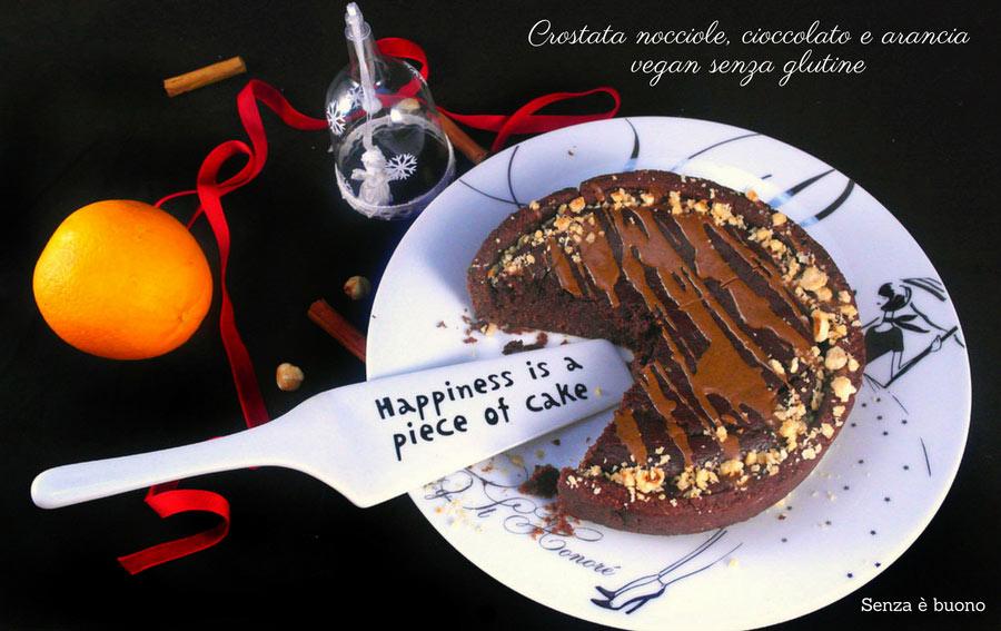 Crostata nocciole e cioccolato