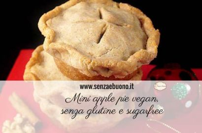 Mini apple pie vegan senza glutine