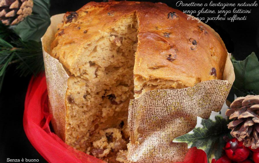 Panettone a lievitazione naturale senza glutine