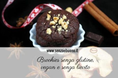Brookies vegan senza glutine