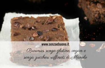 Brownies senza glutine vegan