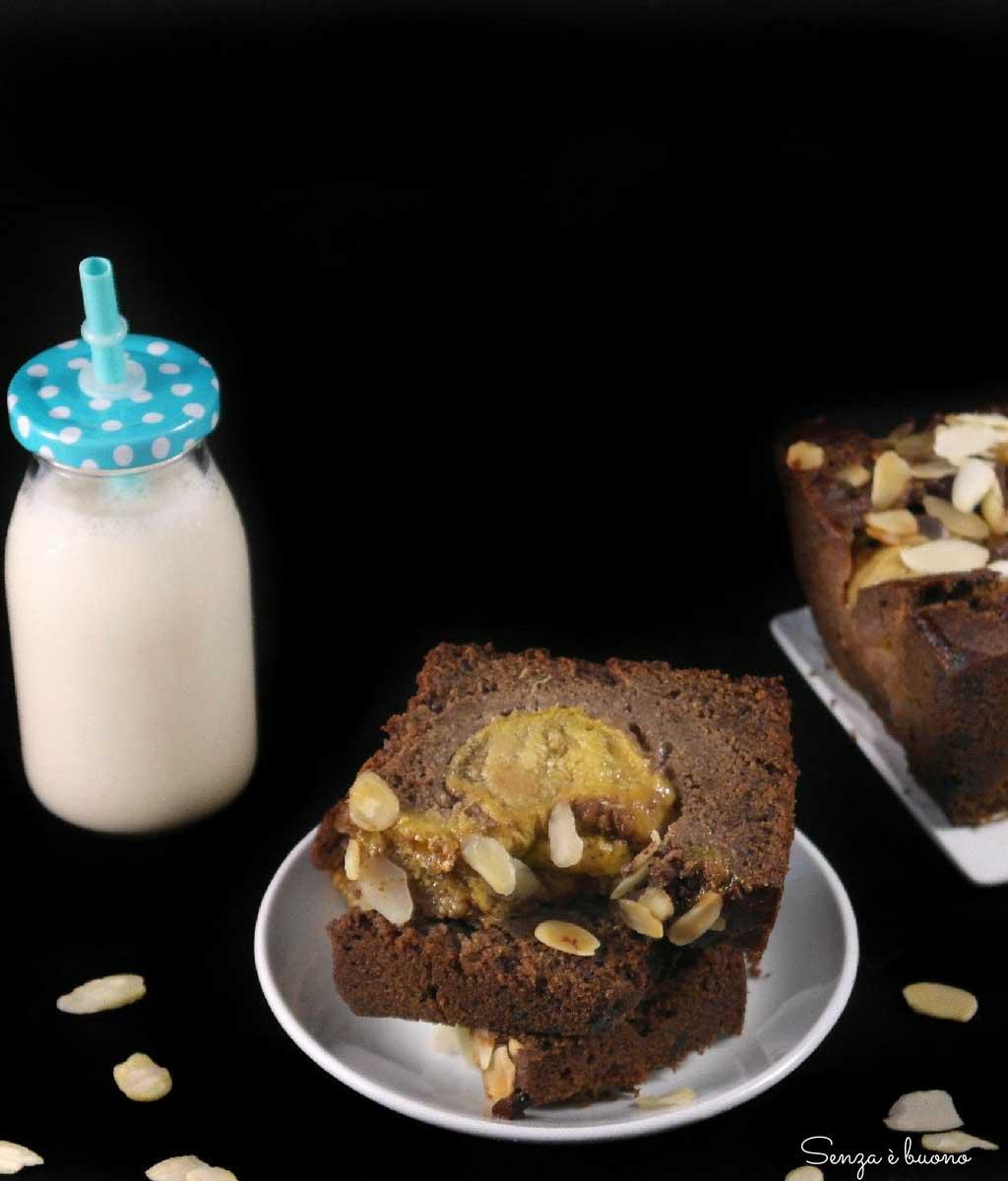 Plumcake fichi e cioccolato senza glutine