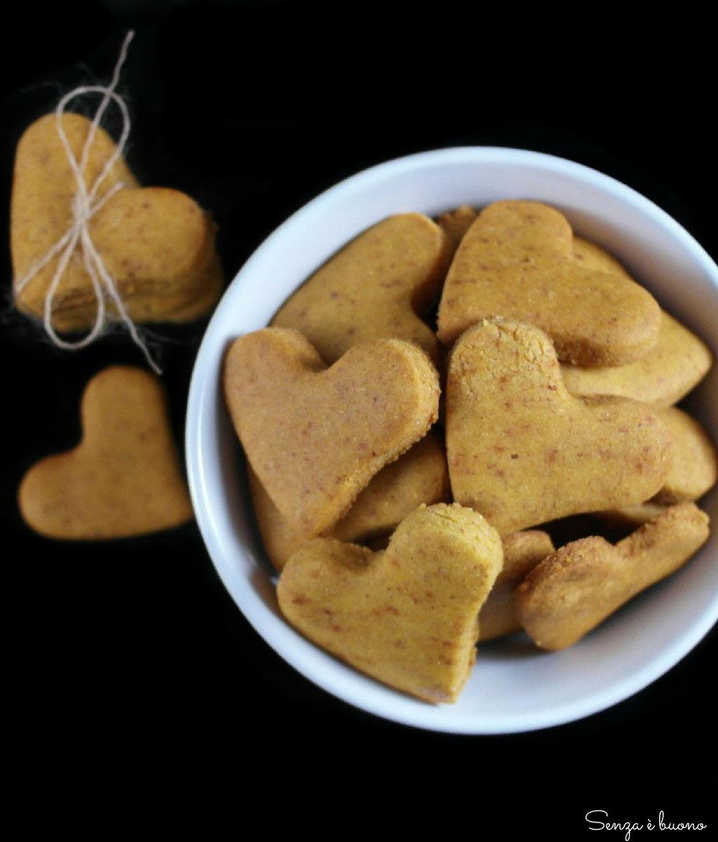 Frollini vegan senza glutine e senza zucchero bianco