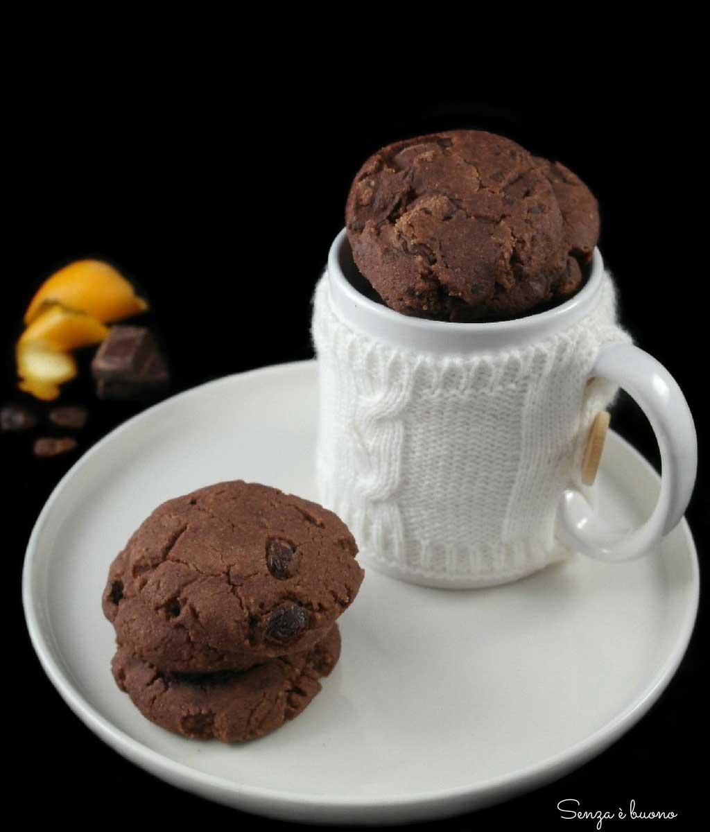 ricetta biscotti colazione vegan senza glutine