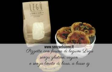 Ricetta pizzette senza glutine a basso indice glicemico