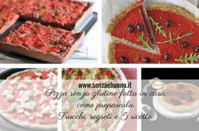 Ricetta pizza senza glutine