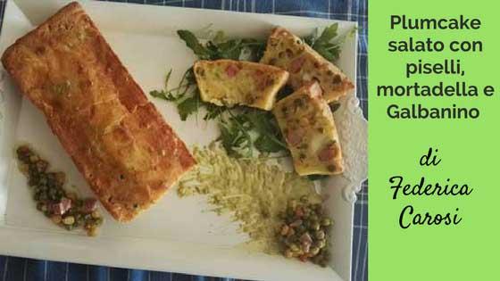 Plumcake salato senza glutine