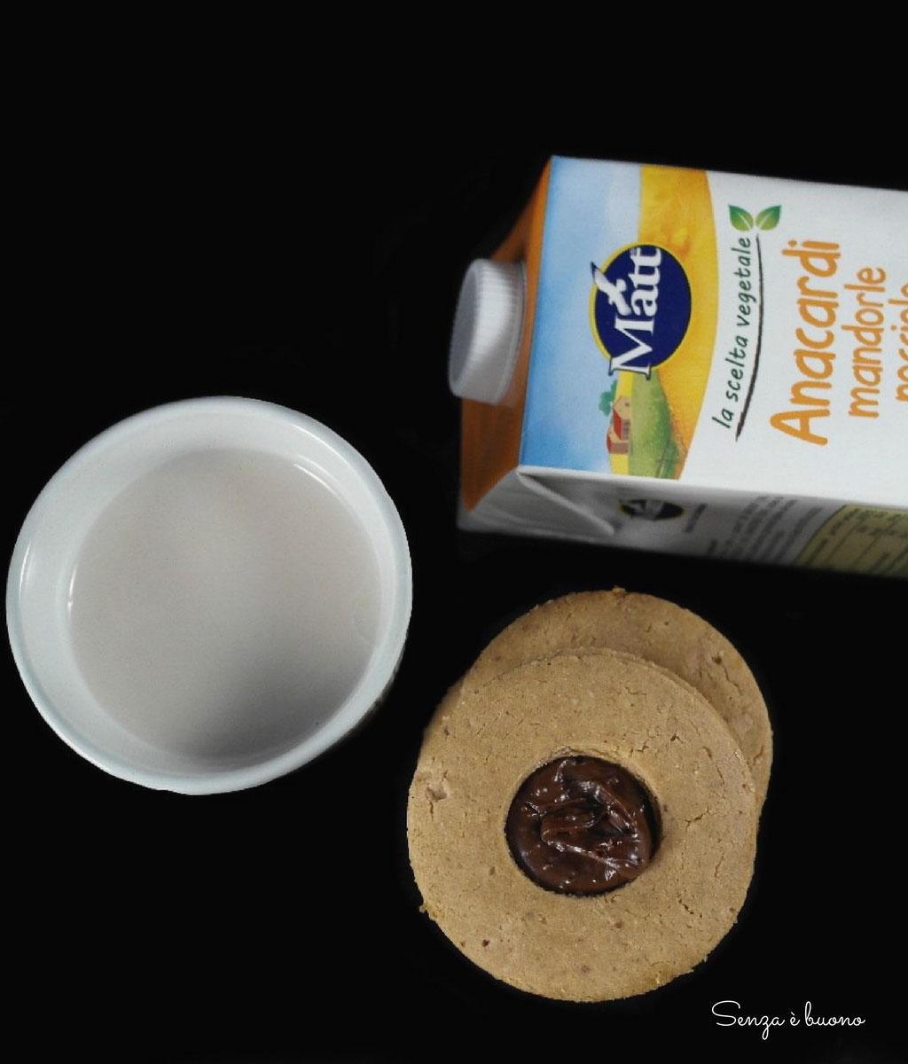 Biscotti con nocciole senza glutine vegan