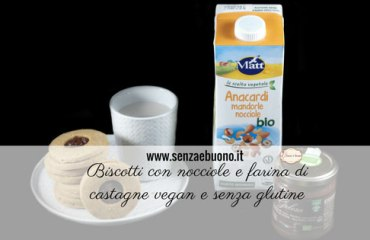 Ricetta biscotti senza glutine vegan