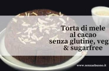 Ricetta torta di mele al cacao senza glutine