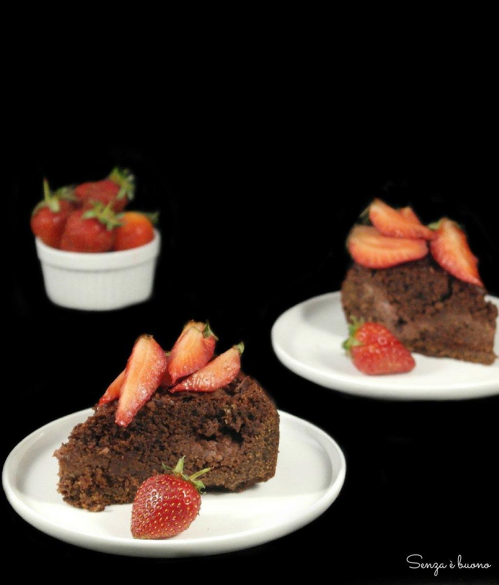 Ricetta crostata fragole e cioccolato