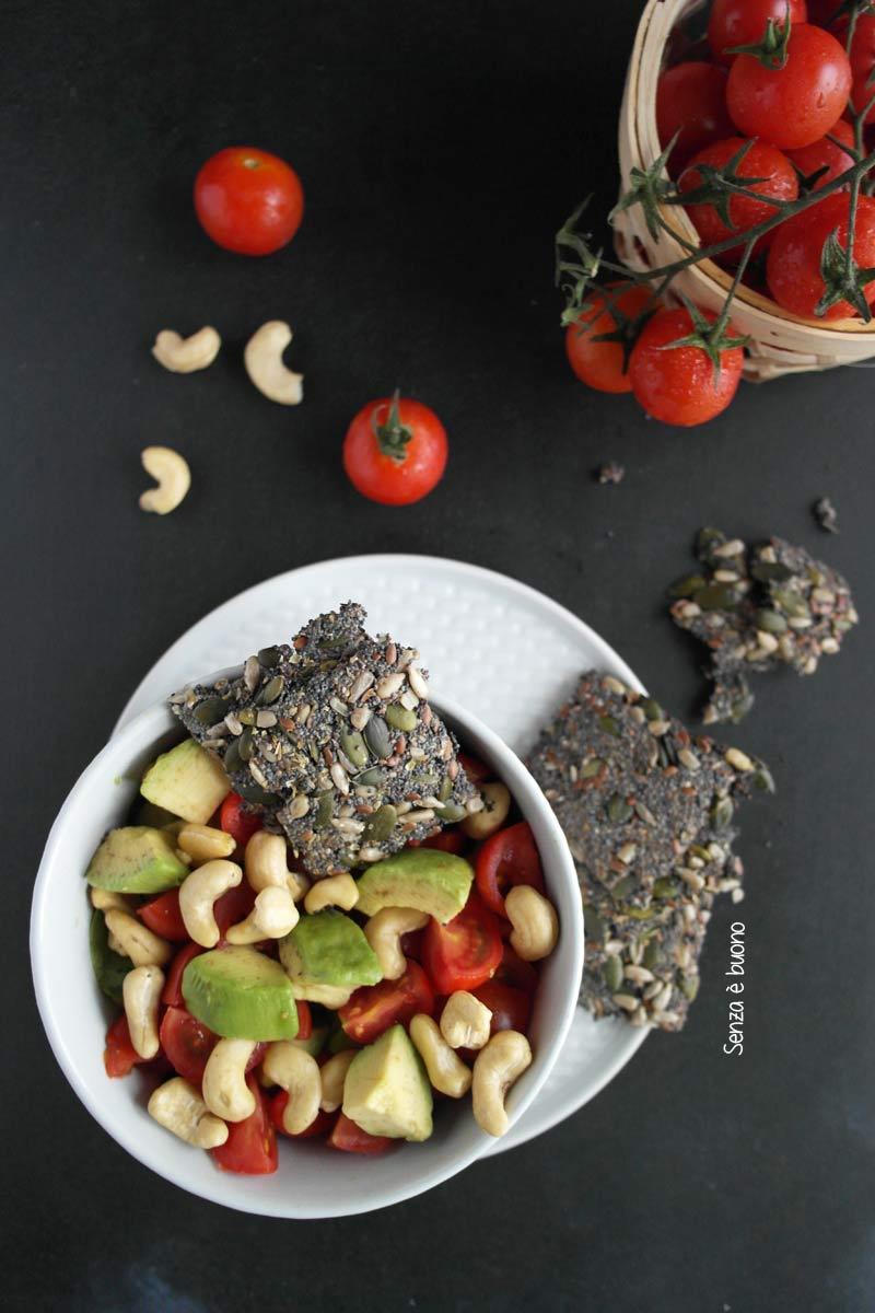 L'insalata perfetta senza glutine vegan