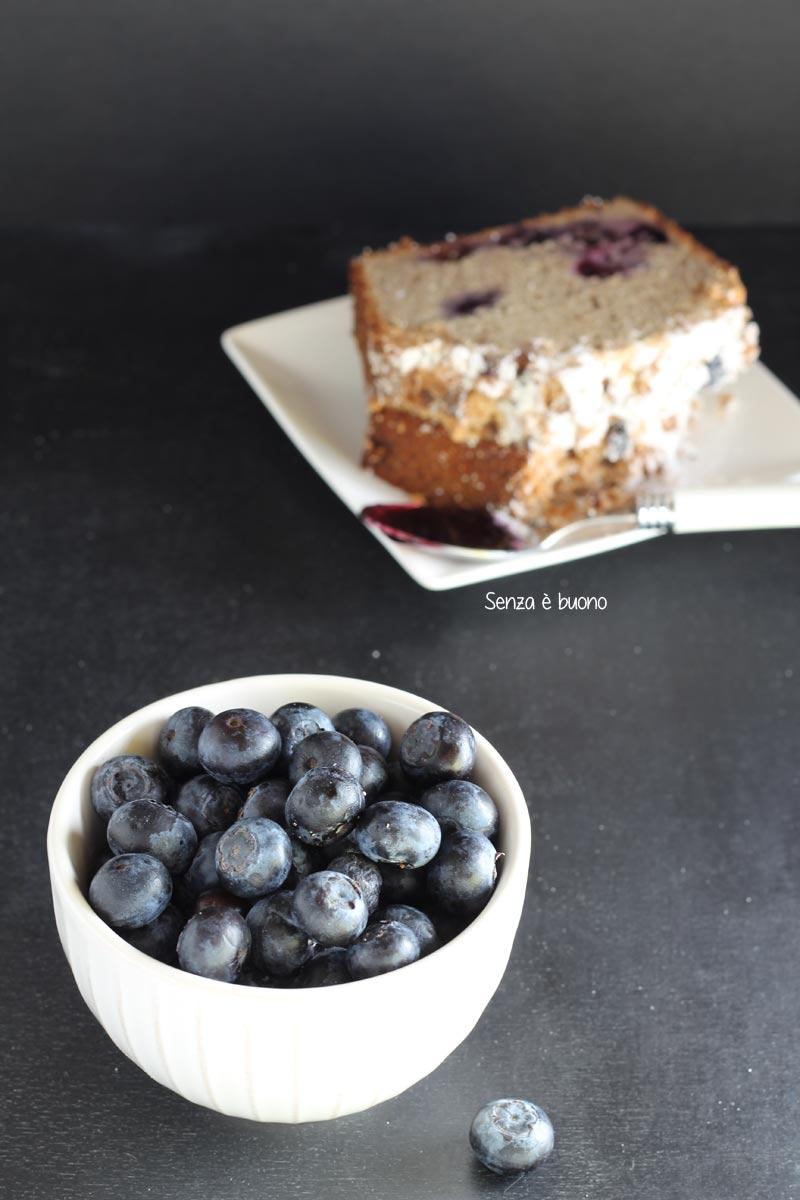 Ricetta a base di mirtilli senza glutine vegan