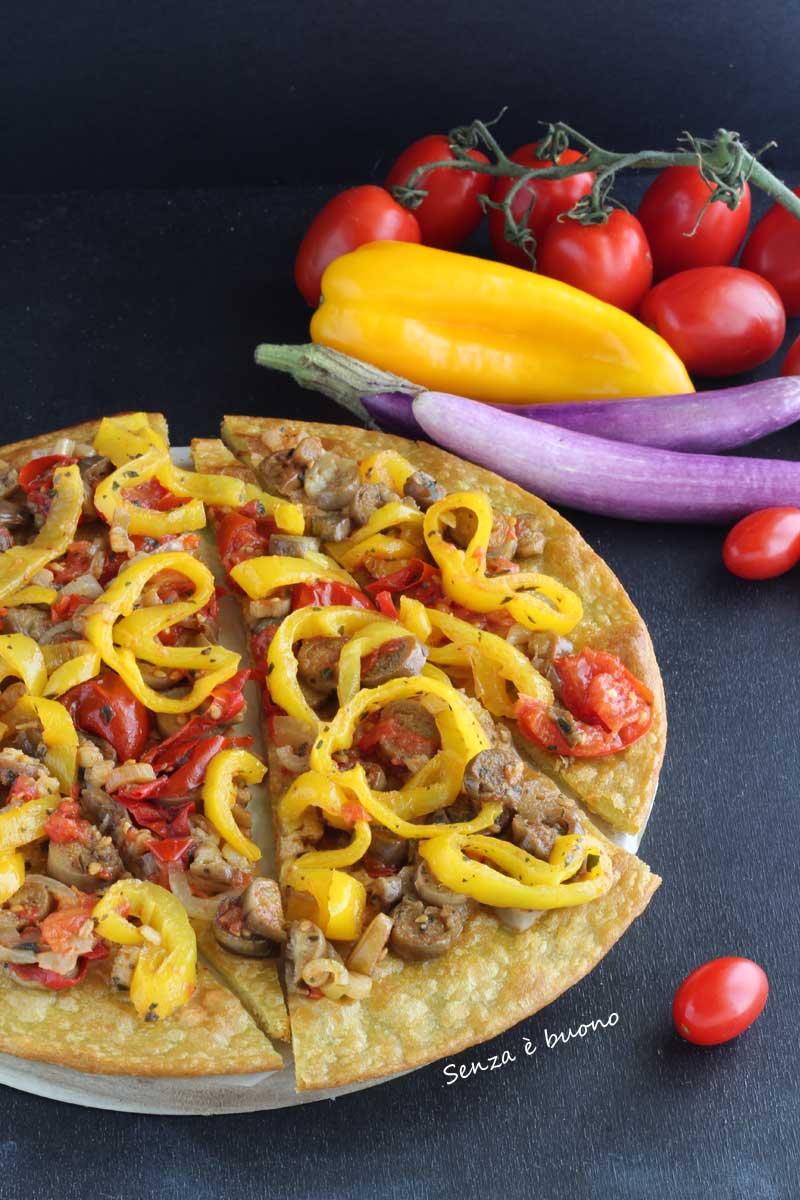 Pizza con farine naturali senza glutine ricetta senza levito