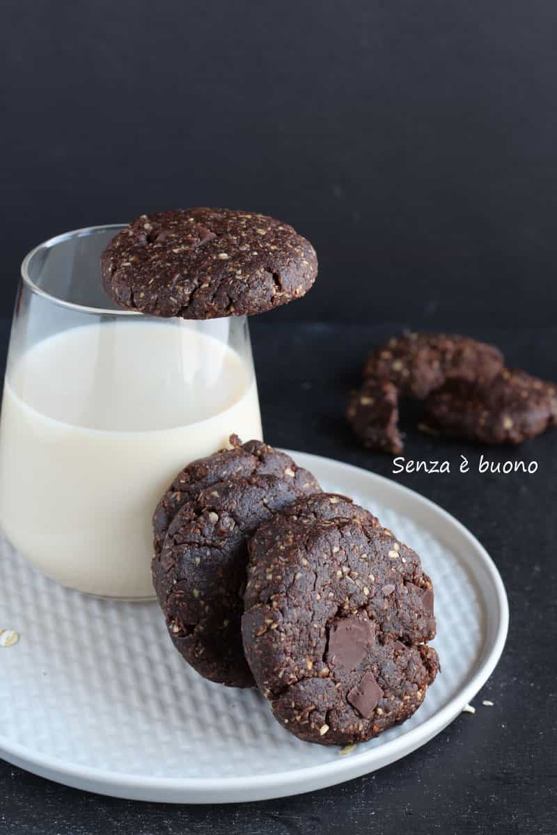 Biscotti solo 3 ingredienti senza forno