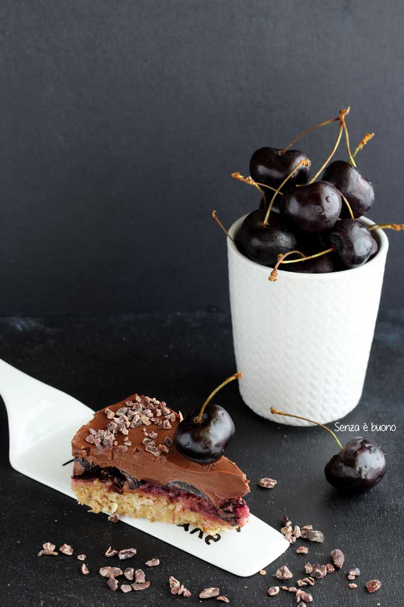 torta senza forno vegan senza glutine