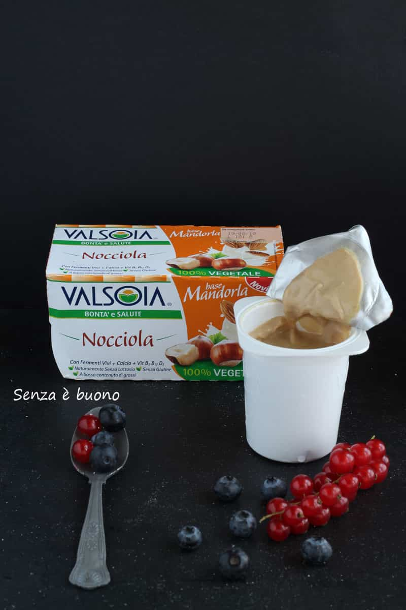 yogurt Valsoia base mandorla