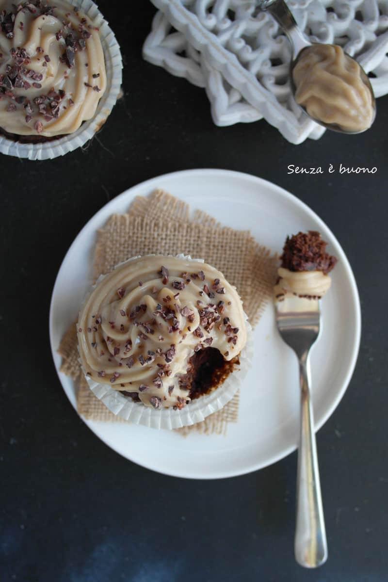 Muffin al cacao senza glutine