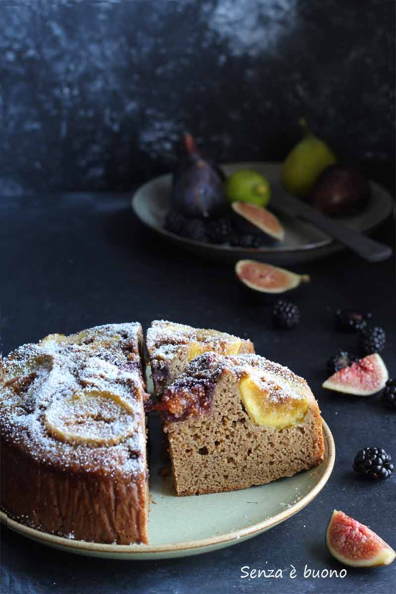 Ricetta torta fichi senza glutine
