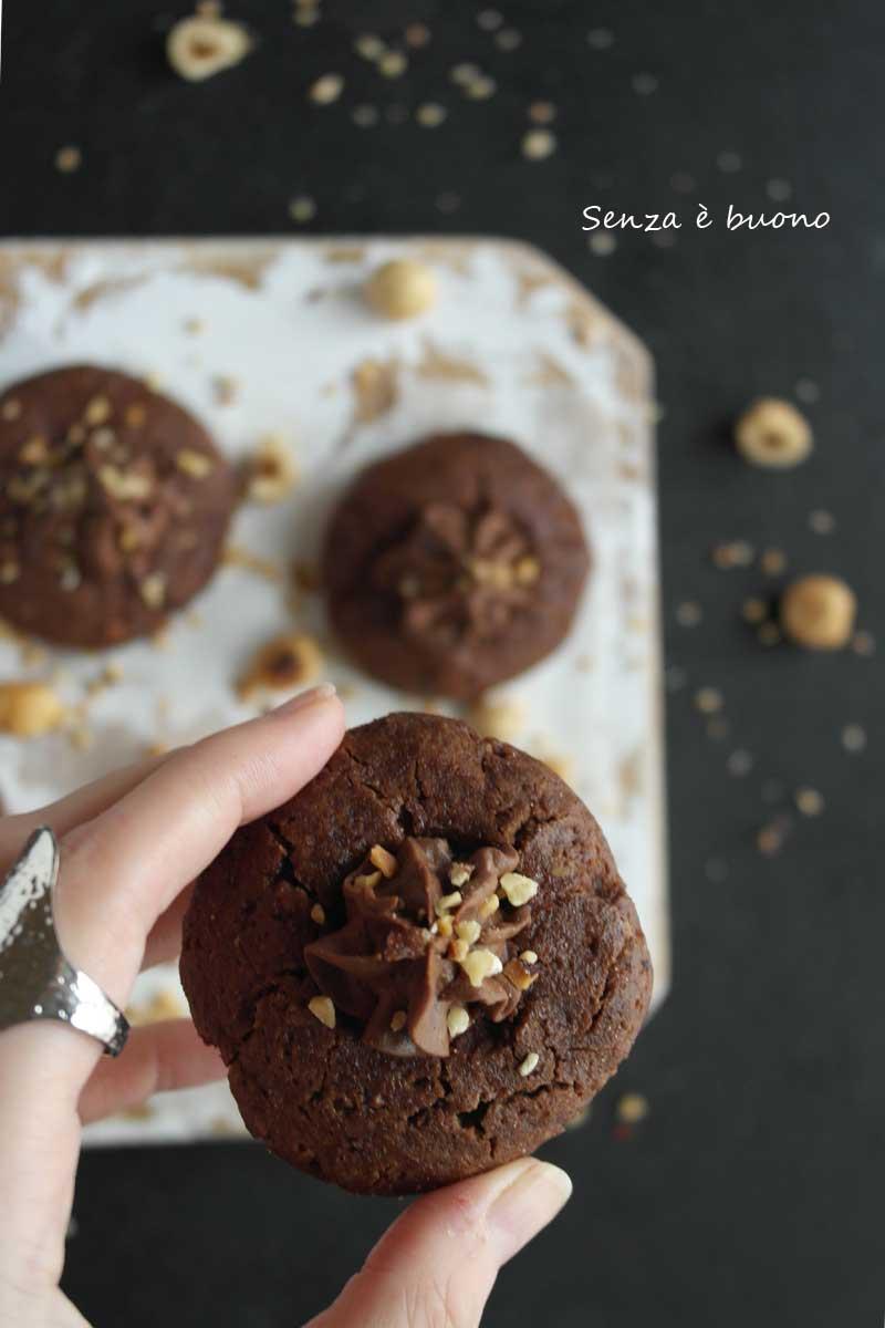Ricetta biscotti nutella senza glutine home made