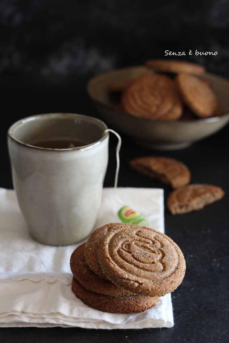 biscotti al tè vegan senza glutine