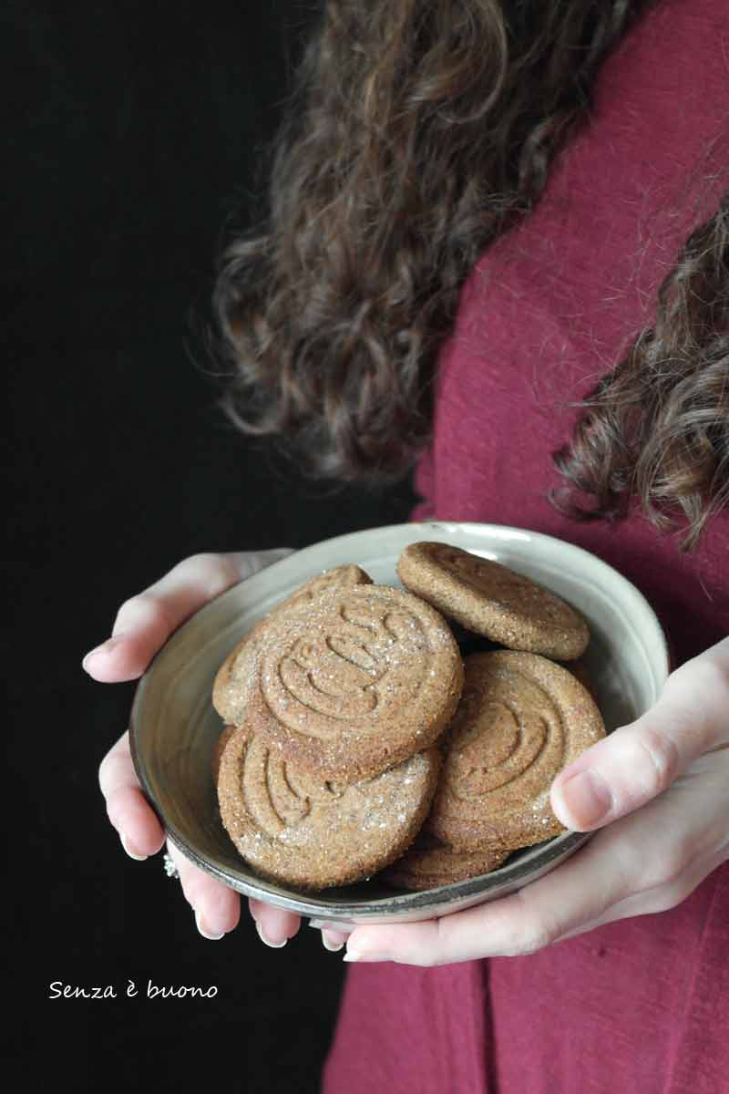 Ricetta biscotti senza glutine con tè verde