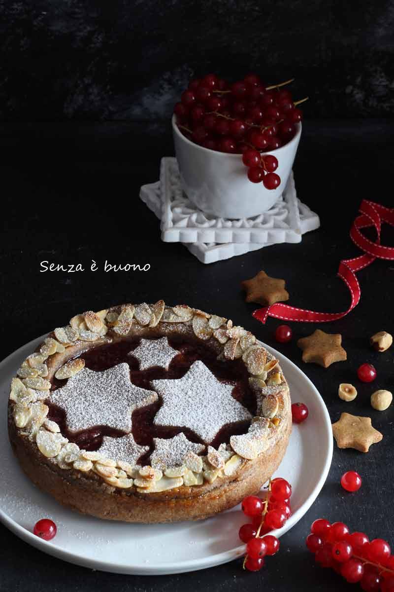 Torta Linzer senza glutine: un dolce di Natale