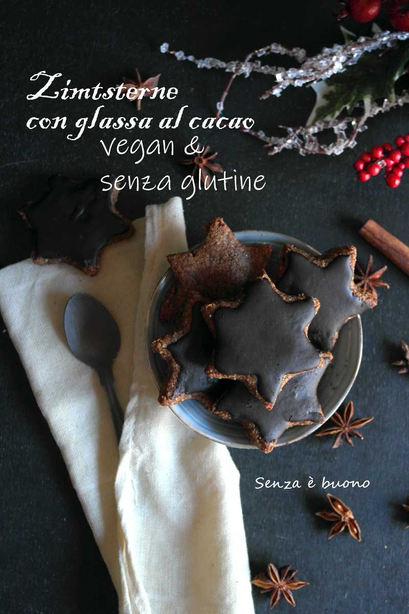 Biscotti Di Natale Zimtsterne.Stelle Alla Cannella Zimtsterne Vegan Senza Farina Senza E Buono