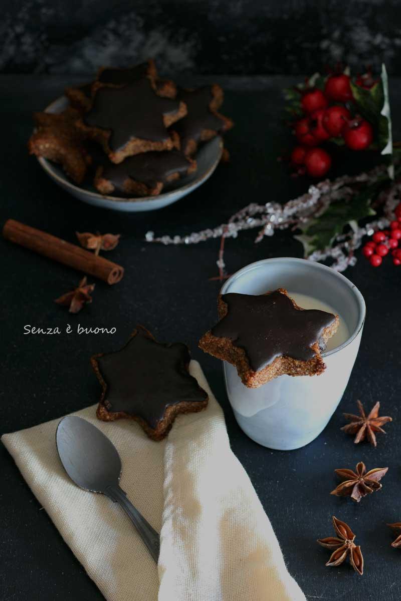 Stelle di Natale vegan senza glutine