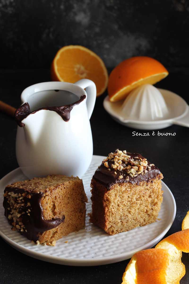 chiffon cake nel fornetto Versilia senza glutine