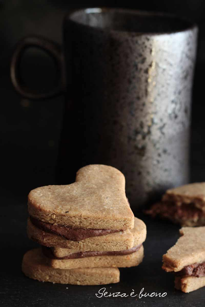 Biscotti cuor di nocciola ricetta senza glutine