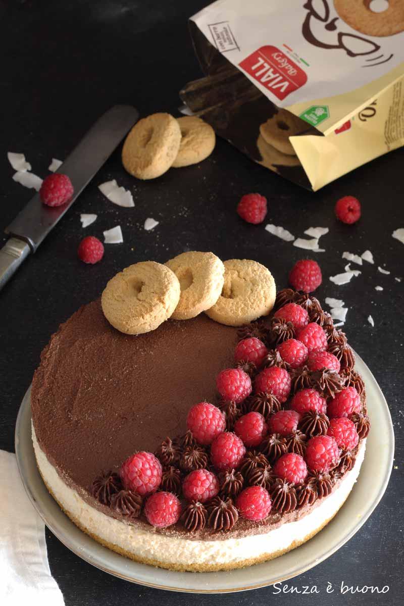 cheesecake senza formaggio senza glutine