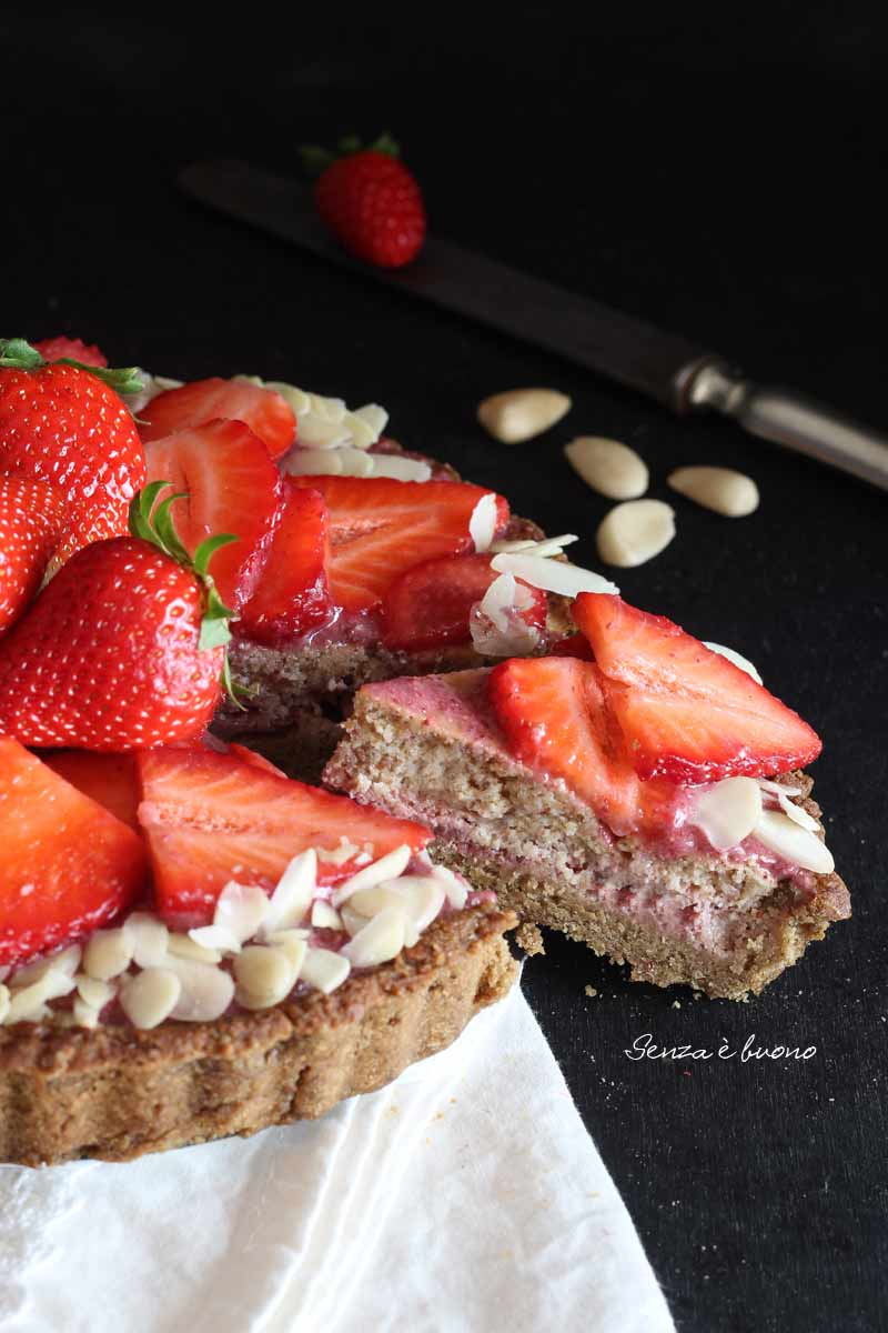Crostata di fragole e mandorle la ricetta perfetta senza glutine