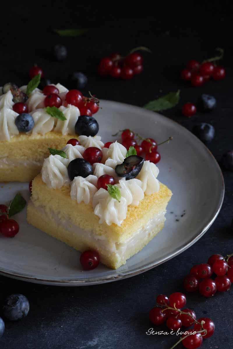 trancetti di torta al limoncello senza glutine