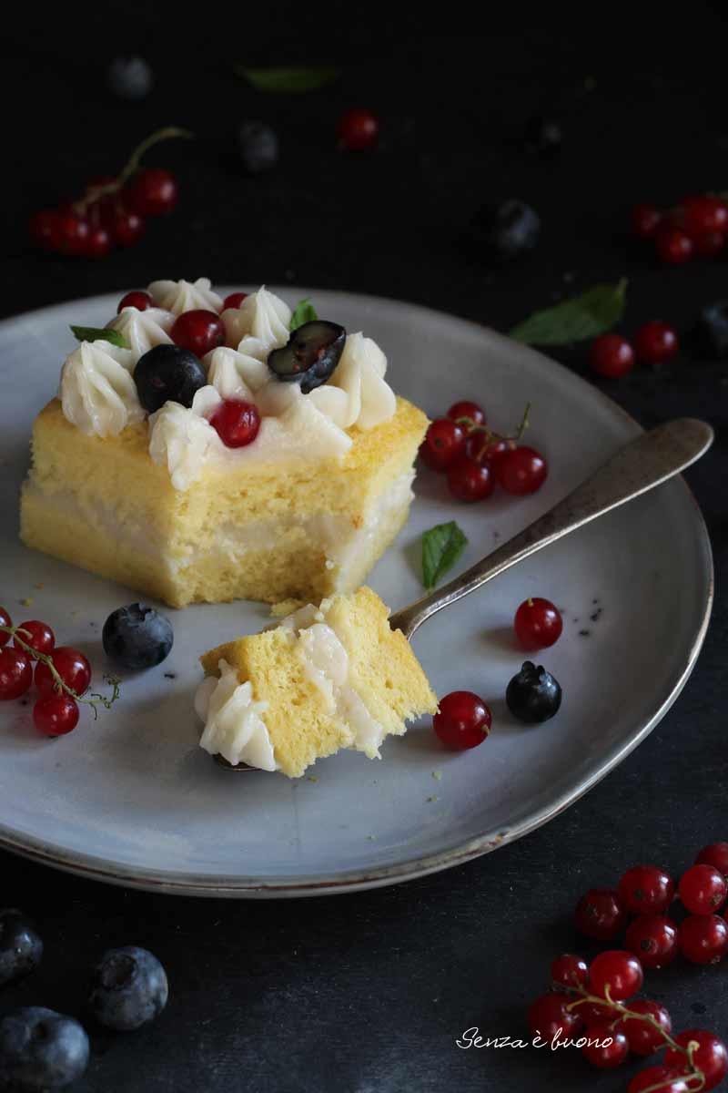 ricetta torta al limoncello senza glutine senza burro