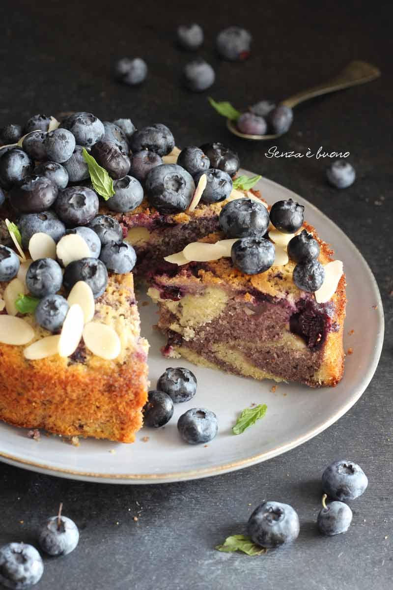 marble cake senza glutine vegan