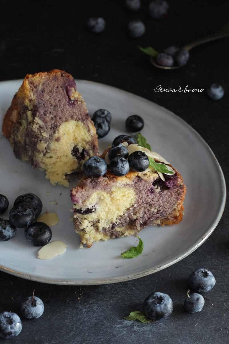 Ricetta marble cake senza glutine vegan