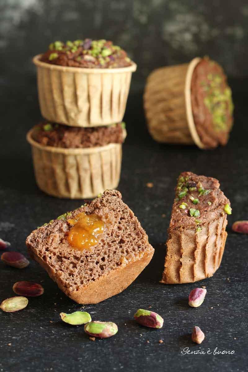 ricetta muffin al cacao per la colazione