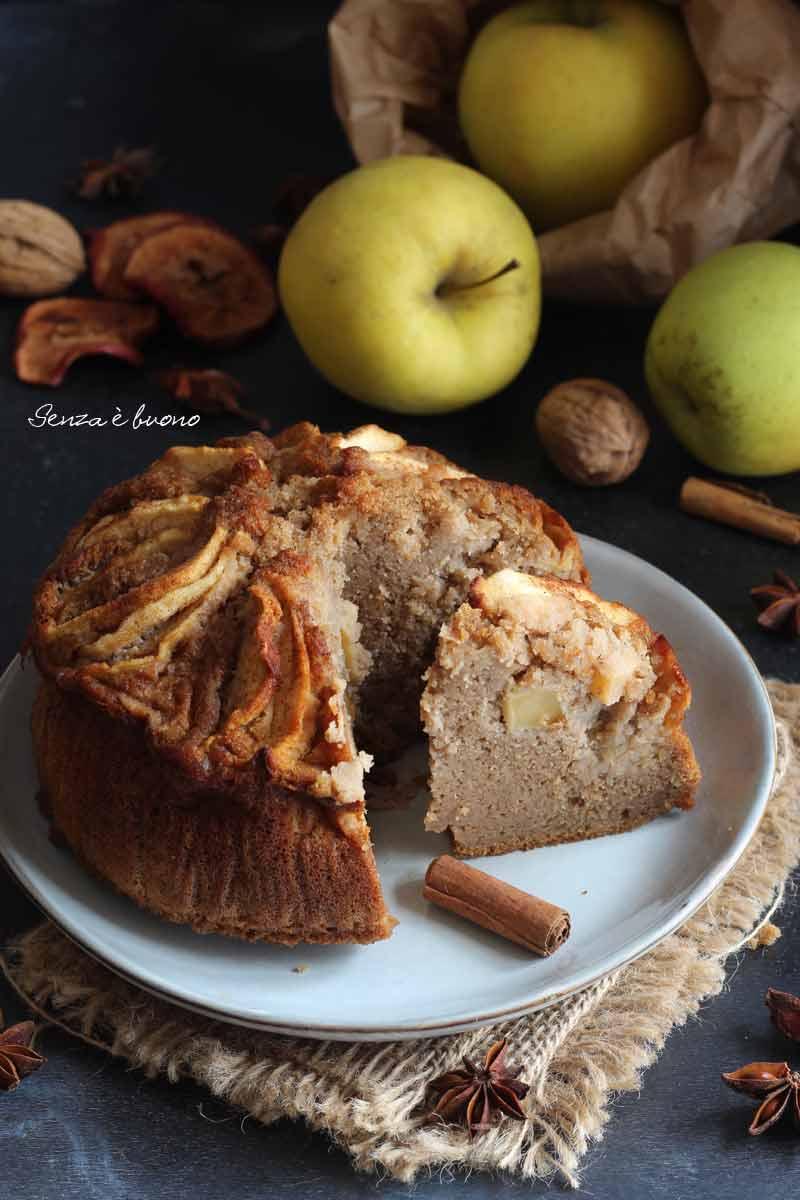 torta di mele senza bilancia senza glutine
